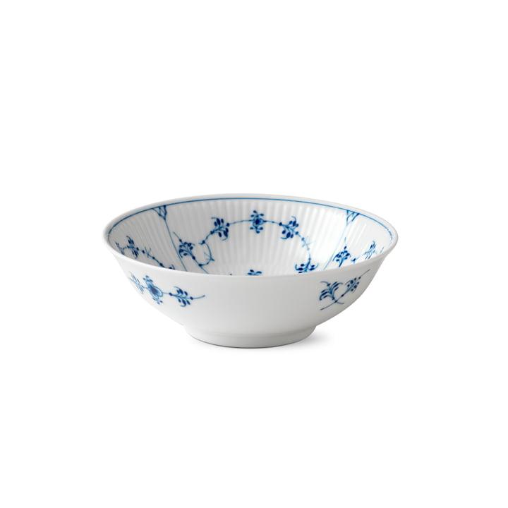 Musselmalet Ribbed Bowl Ø 16 cm from Royal Copenhagen