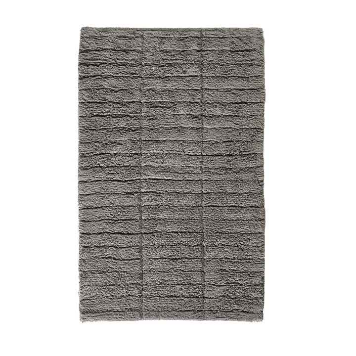 Soft Tiles bathroom mat, 80 x 50 cm in stone grey from Zone Denmark