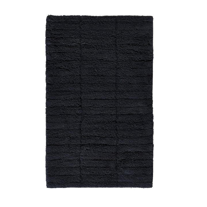Soft Tiles bathroom mat, 80 x 50 cm in black by Zone Denmark
