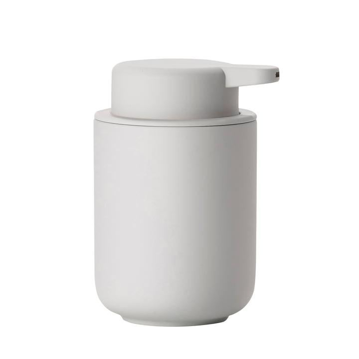 Ume soap dispenser in soft grey from Zone Denmark