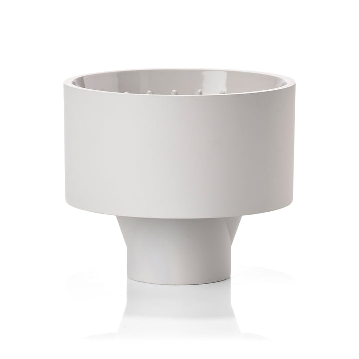 Singles coffee filter in soft grey from Zone Denmark