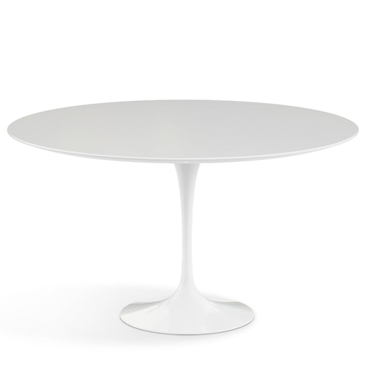 Saarinen Tulip bistro table Ø 137 cm from Knoll in white