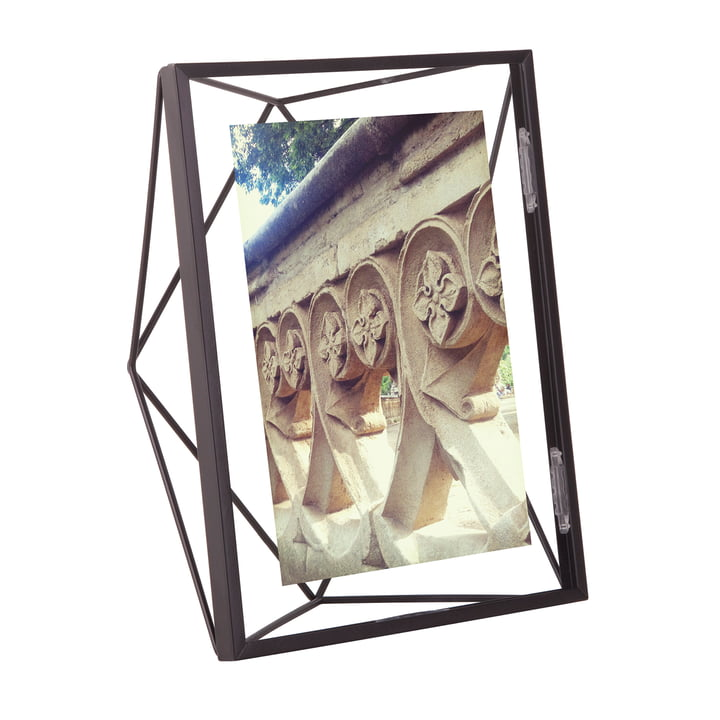 Prism picture frame 10 x 15 cm in black by Umbra