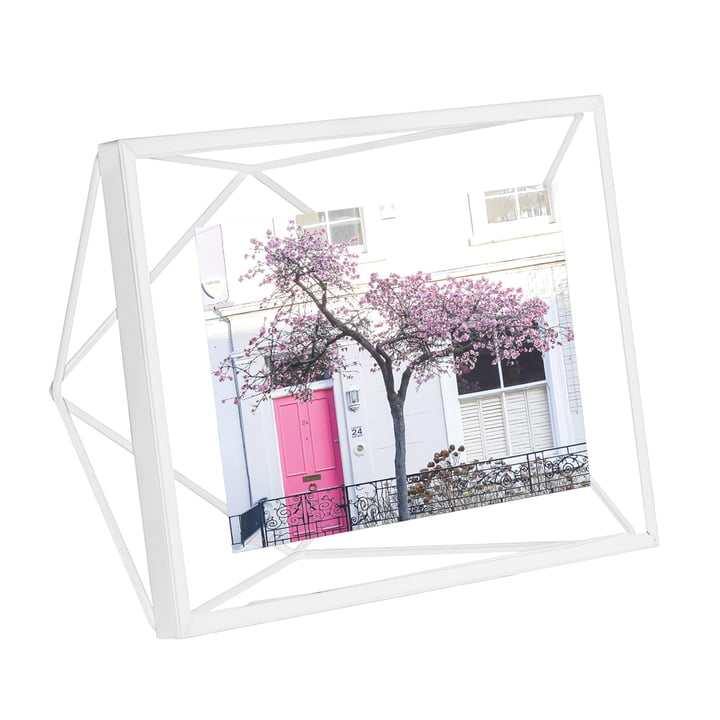Prism picture frame 13 x 18 cm in white by Umbra