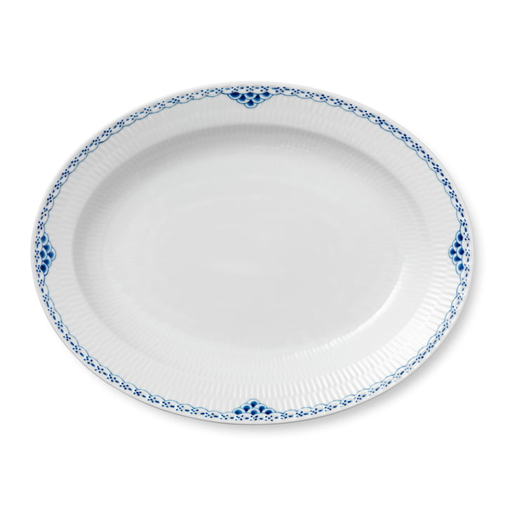 Princess serving plate oval 36,5 cm from Royal Copenhagen