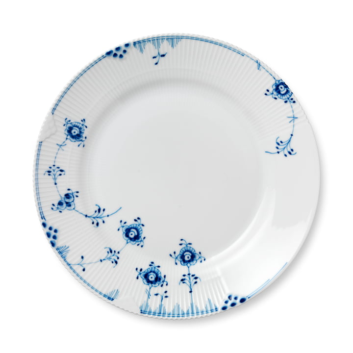 Elements Blue plate flat Ø 28 cm from Royal Copenhagen