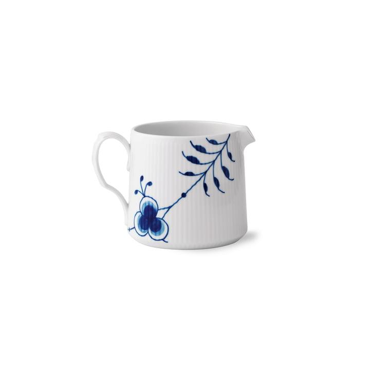 Mega Blue Ribbed milk jug 70 cl from Royal Copenhagen