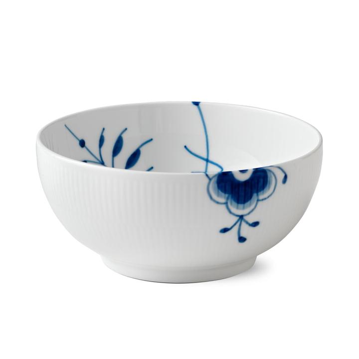 Mega Blue Ribbed Bowl Ø 21 cm from Royal Copenhagen