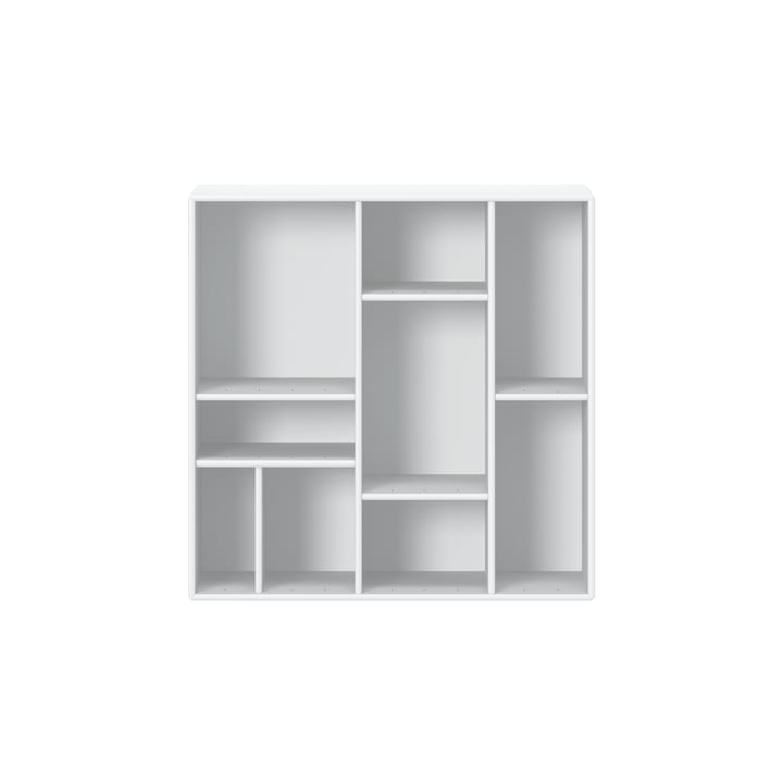 Compile shelf with suspension from Montana in new white