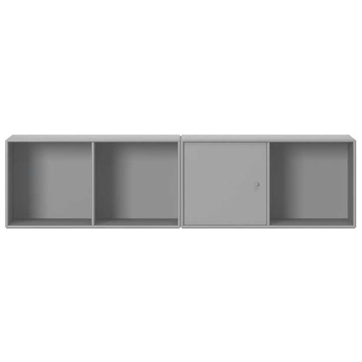 Line shelf with suspension from Montana in fjord