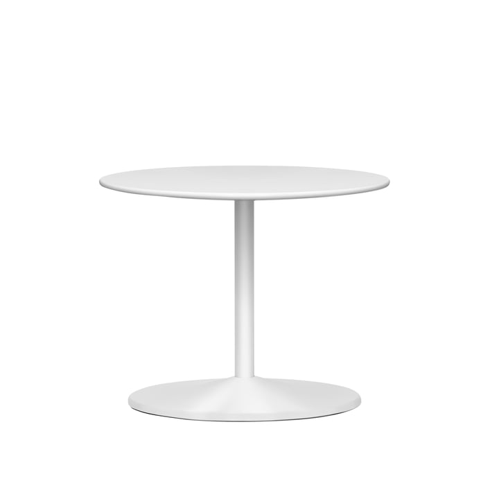 Panton side table Ø 60 x H 45 cm from Montana in laminate snow / snow