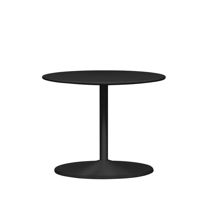 Panton side table Ø 60 x H 45 cm from Montana in linoleum black / black