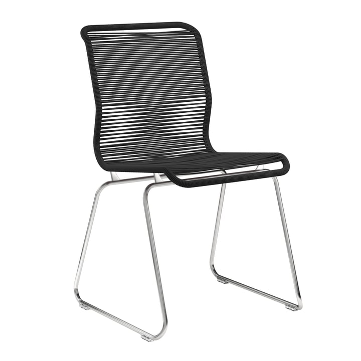Panton One chair from Montana in Clark / stainless steel
