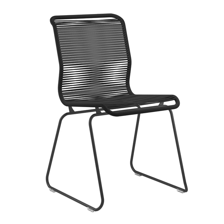 Panton One chair by Montana in Clark / black