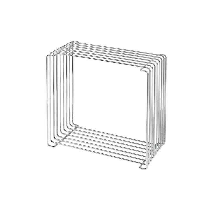 Panton Wire shelf 18,8 cm from Montana in Chrome