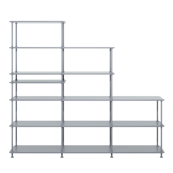 Free Shelving System Staircase 542100 from Montana in fjord