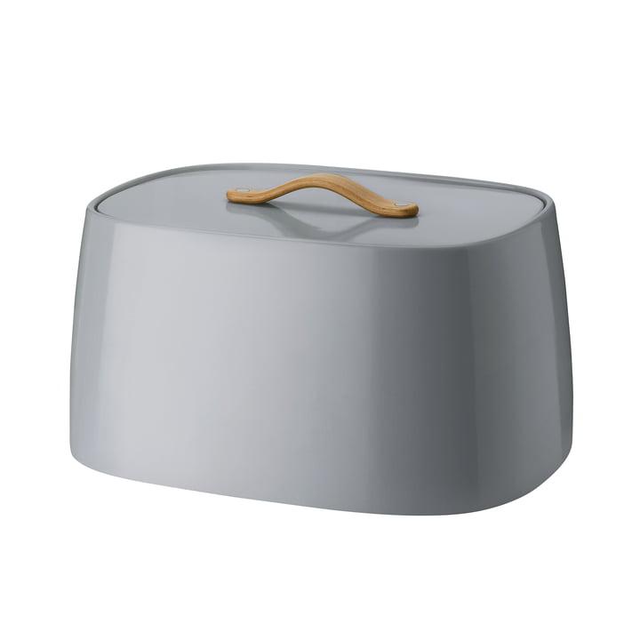 Emma bread box from Stelton in grey