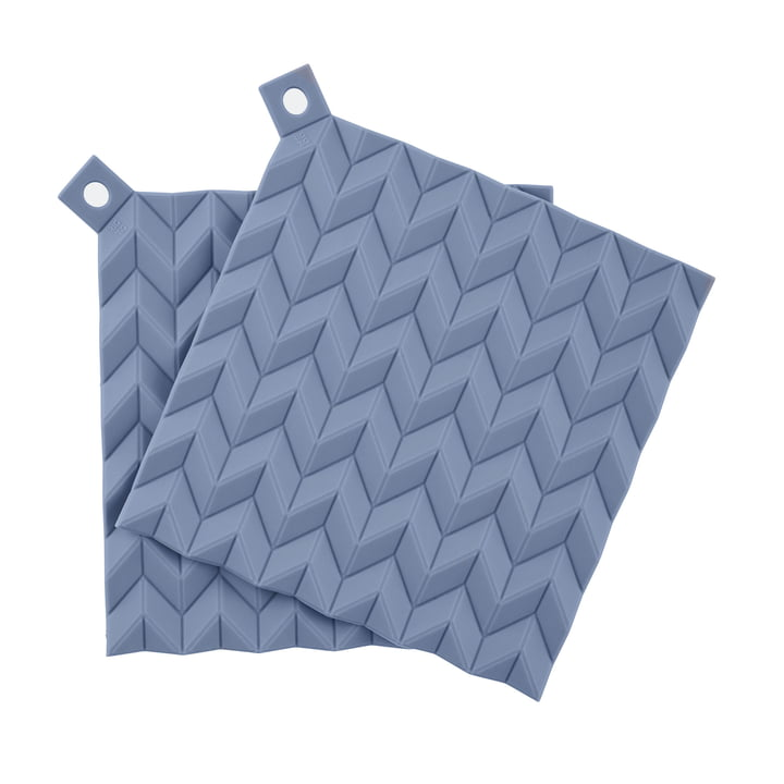 Hold-On Potholder (set of 2) from Rig-Tig by Stelton in blue