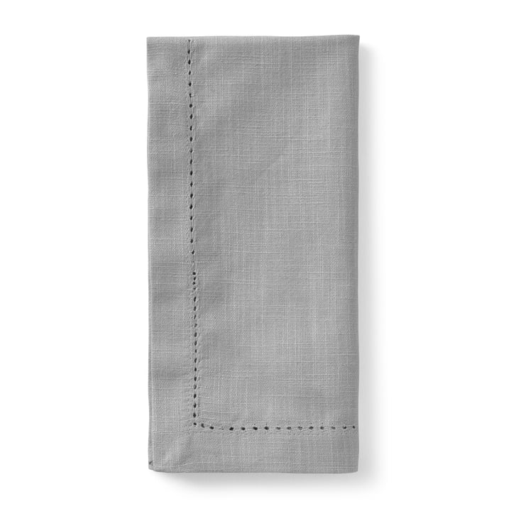 Celebrate fabric napkins (set of 4) 45 x 45 cm from Juna in grey
