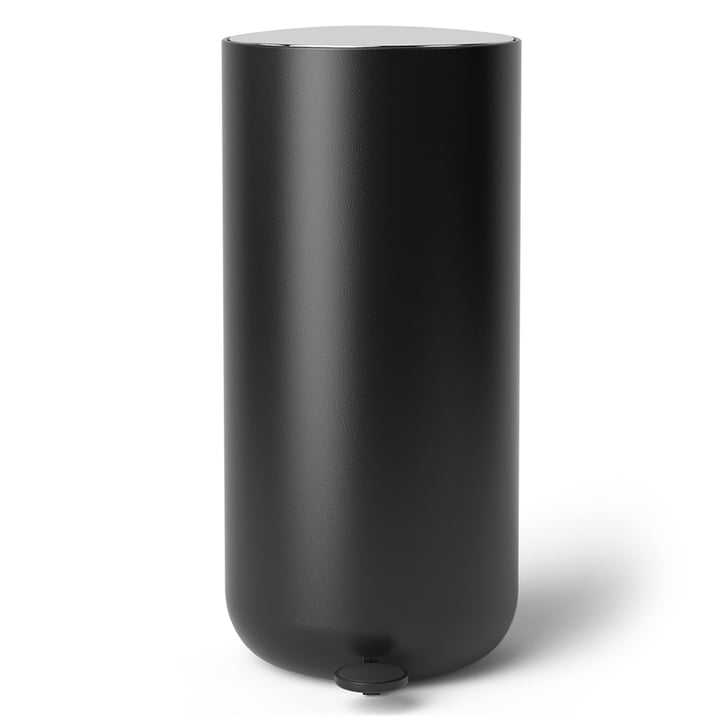 Pedal waste bin 30 l from Menu in black