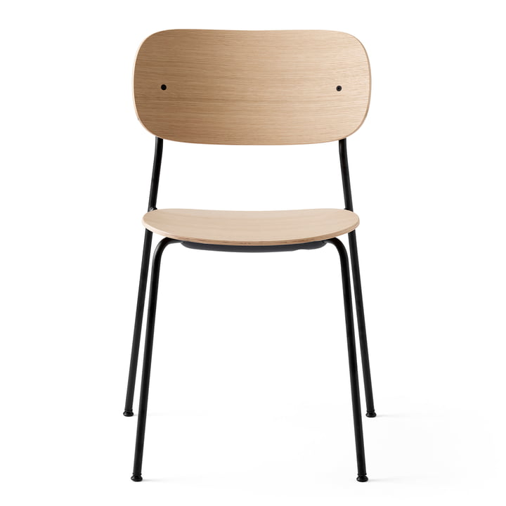 Co Dining Chair in black / natural oak from Menu