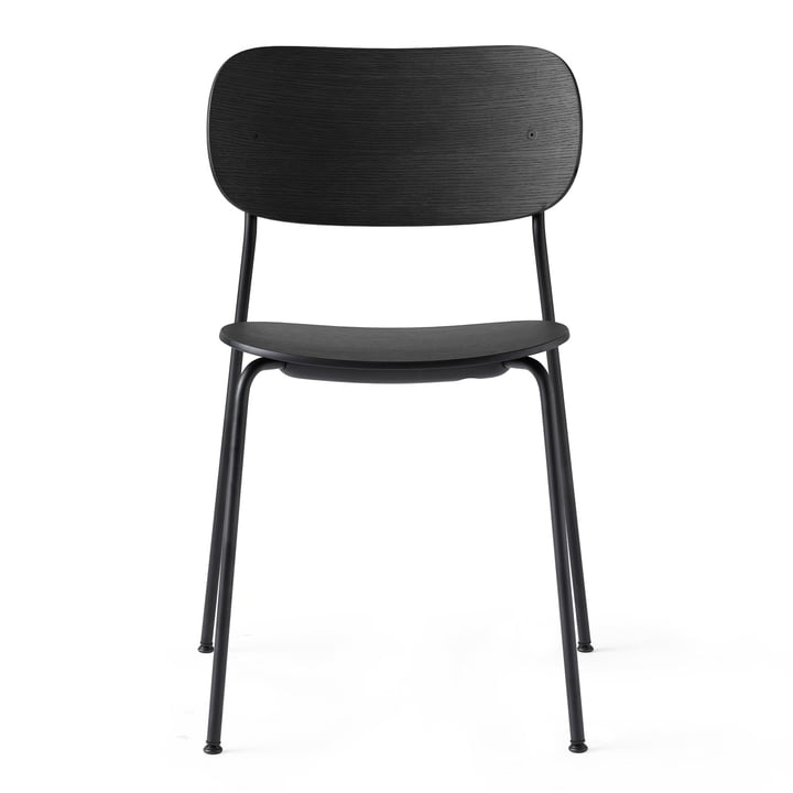 Co Dining Chair in black / Oak black by Menu