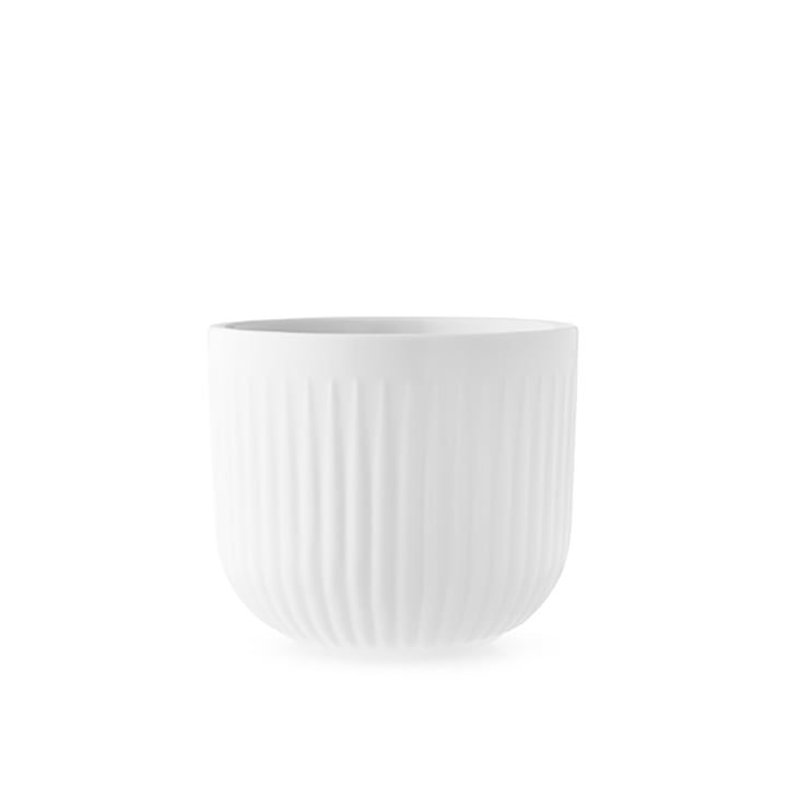Legio Nova planter Ø 13 cm from Eva Trio in white