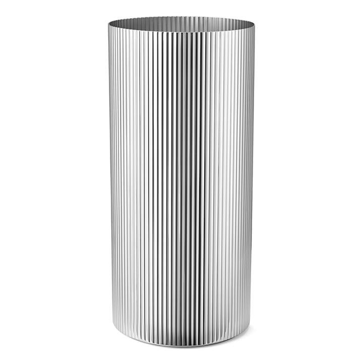 Bernadotte Vase large in stainless steel polished by Georg Jensen