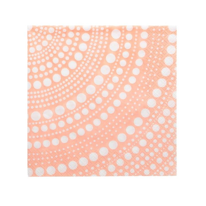 Kastehelmi paper napkin 33 x 33 cm from Iittala in powder