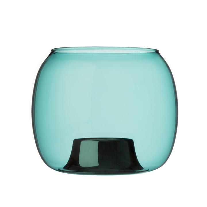 Kaasa tea light holder 141 x 115 mm from Iittala in sea blue