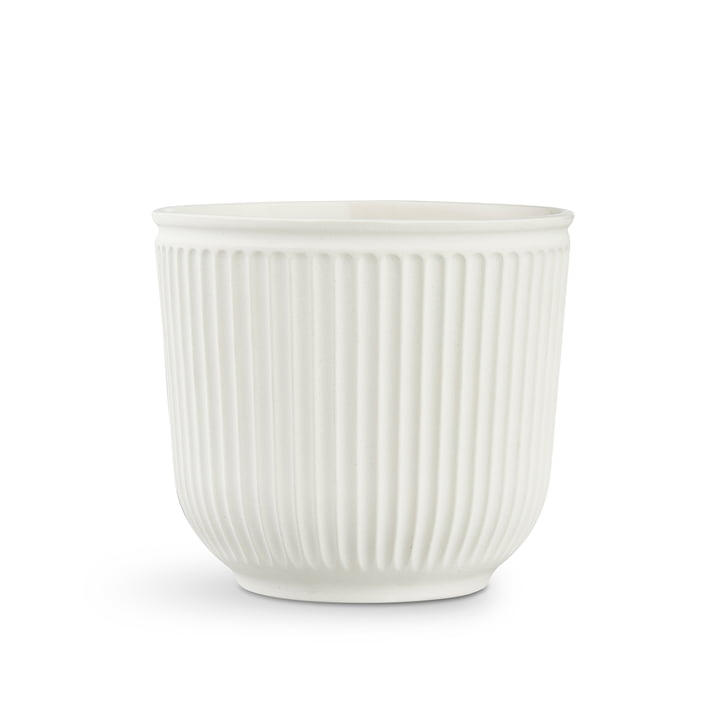 Hammershøi Planter H 16,5 cm from Kähler Design in unglazed