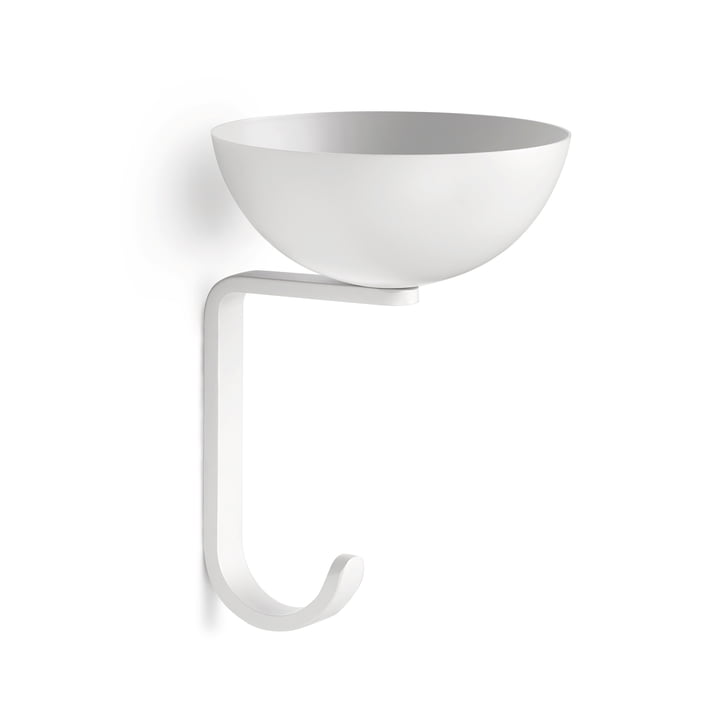 Nest wall hook in white from Northern