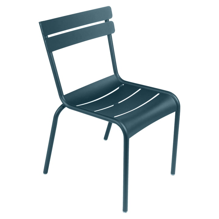 Luxembourg Chair from Fermob in acapulco blue