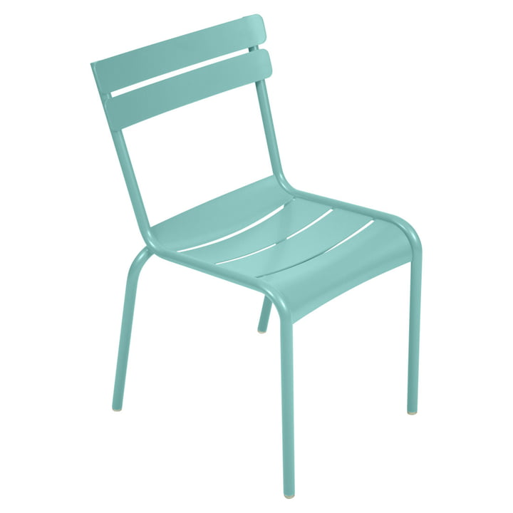 Luxembourg Chair from Fermob in lagoon blue