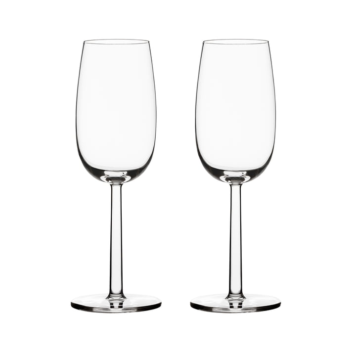 Raami champagne glass 24 cl (set of 2) from Iittala