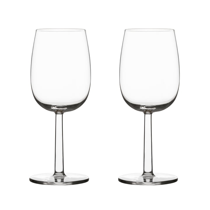 Raami white wine glass 28 cl (set of 2) from Iittala