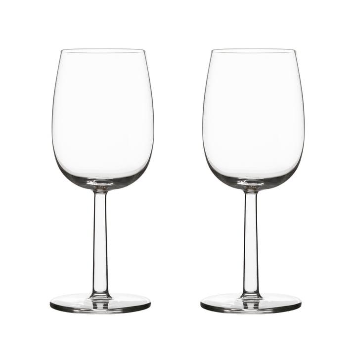 Raami white wine glass 28 cl (set of 2) from Iittala