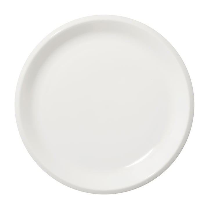 Raami plate flat Ø 27 cm from Iittala in white