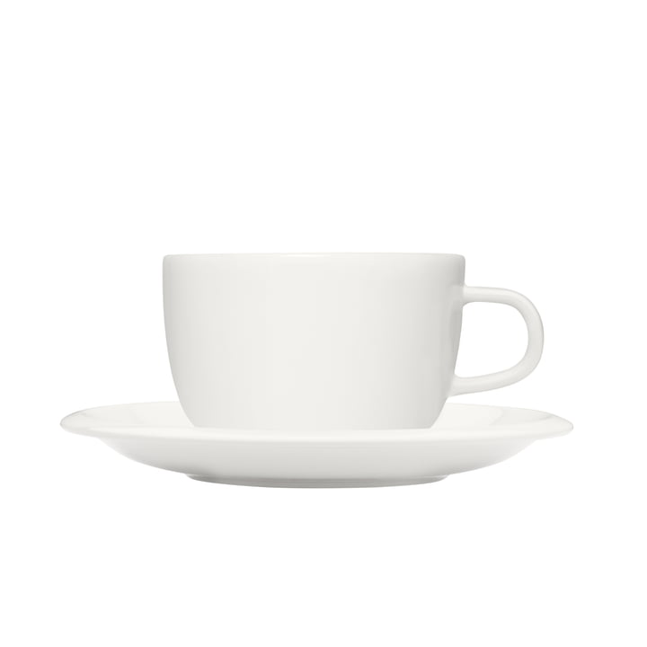 Raami cup with saucer 27 cl from Iittala in white