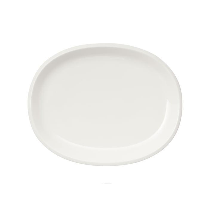 Raami serving plate 35 cm oval from Iittala in white
