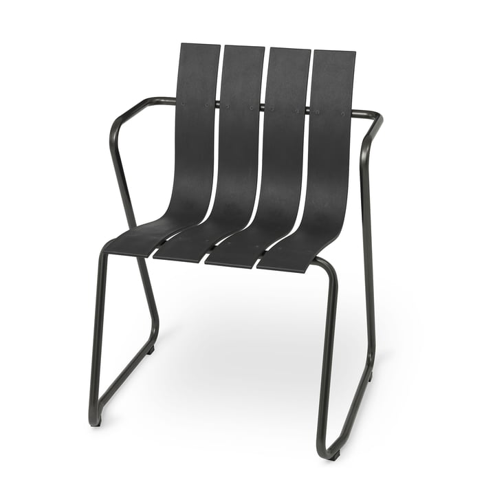 Ocean chair by Mater in black