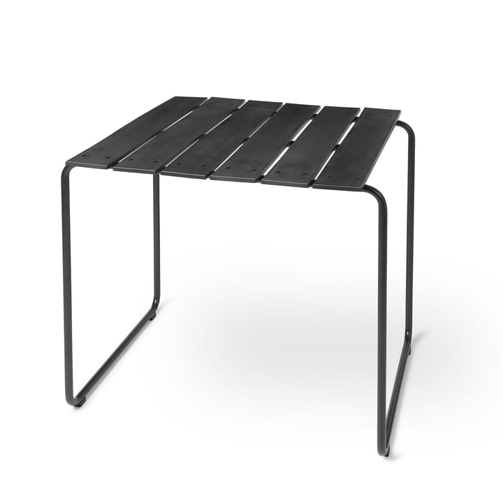 Ocean table 70 x 70 cm of Mater in black