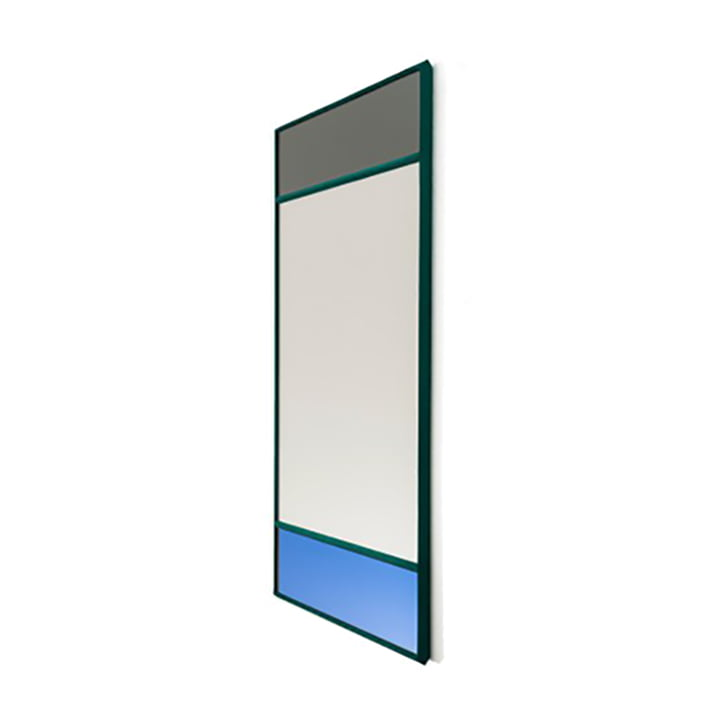 Vitrail wall mirror 50 x 70 cm from Magis in green / multicoloured