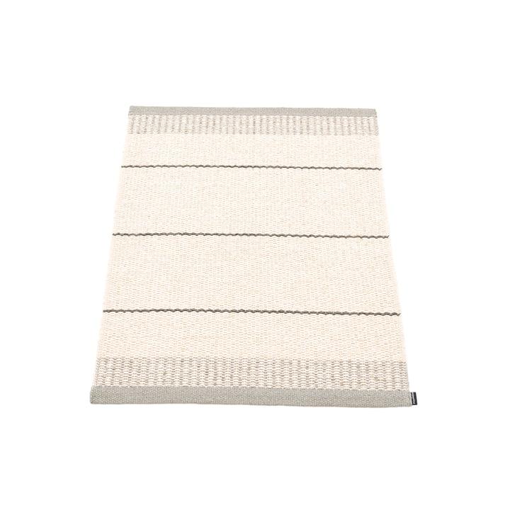 Belle carpet, 60 x 85 cm in warm grey by Pappelina