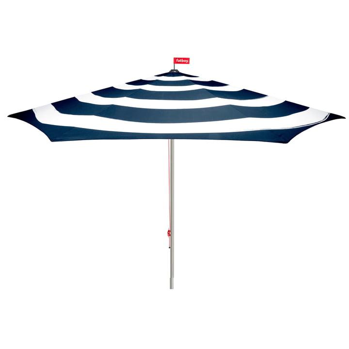 Stripesol Parasol from Fatboy in dark blue