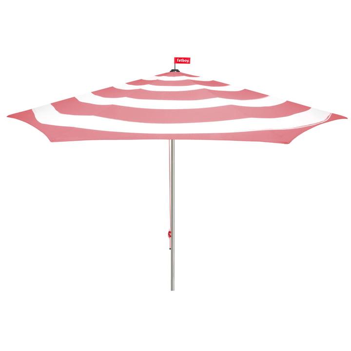 Stripesol Parasol from Fatboy in deep blush