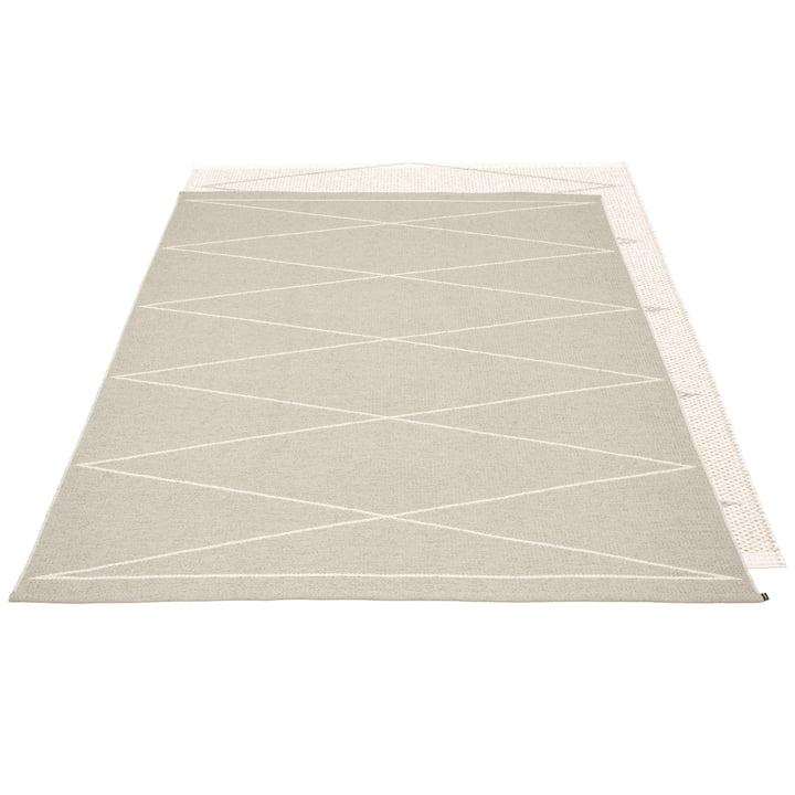Max reversible carpet, 180 x 260 cm in linen / vanilla by Pappelina
