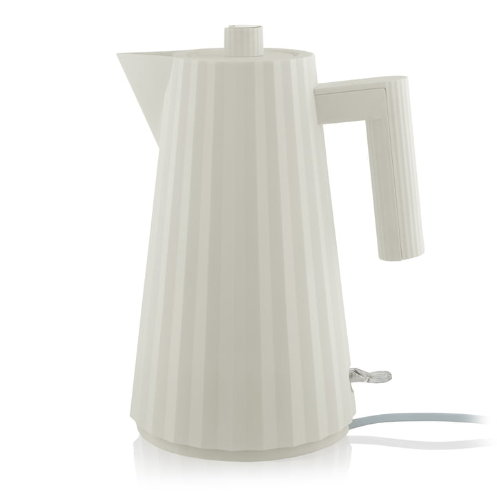Plissé kettle 1,7 l from Alessi in white