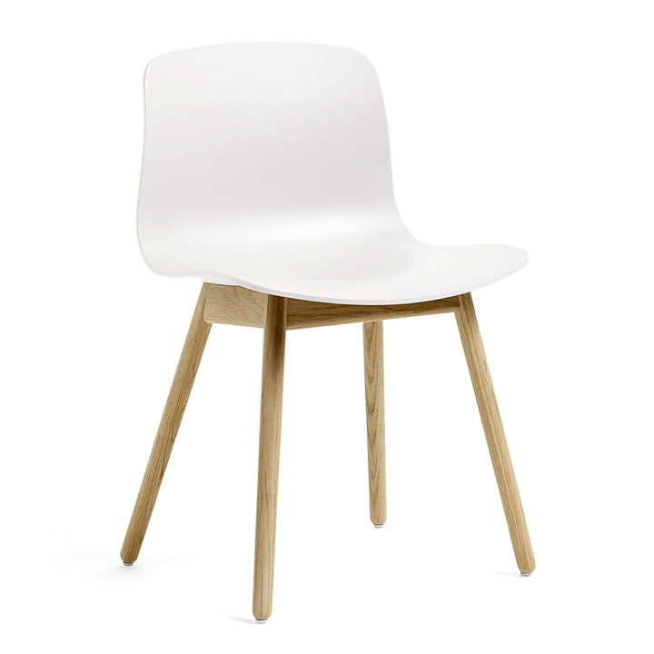 About A Chair AAC 12 from Hay in matt lacquered oak / white