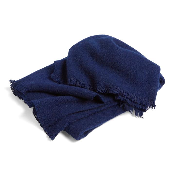 Mono woollen blanket 130 x 180 cm from Hay in midnight blue